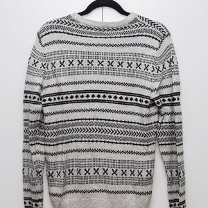 H&M / Divided, Wool Patterned Sweater